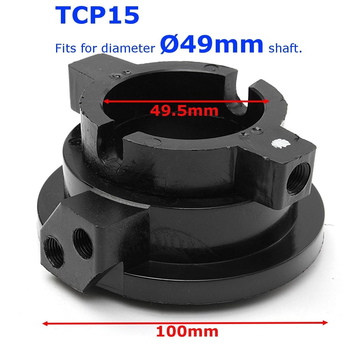 Rotella della gomma del Pneumatico Dell'automobile del veicolo Changer Rotante Accoppiatore Coupling Air Valvola di TCP15