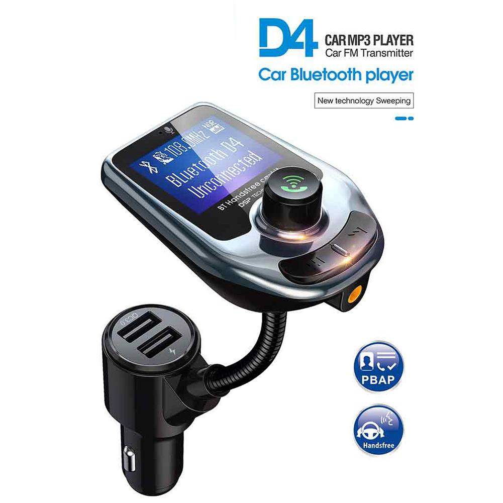 <font><b>Car</b></font> <font><b>Transmitter</b></font> <font><b>MP3</b></font> Player <font><b>Car</b></font> Radio Audio <font><b>Adapter</b></font> <font><b>Bluetooth</b></font> <font><b>FM</b></font> <font><b>Transmitter</b></font> LCD Display Wireless <font><b>Mp3</b></font> Player Dual USB <font><b>Charger</b></font> image