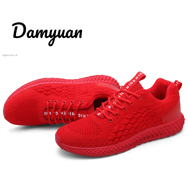 Damyuan 2019 New Autumn Fashion Men Flyweather Comfortables Non leather Lightweight Plug Size 46 Mens Shoes Casual in Men 39 s Casual Shoes from Shoes