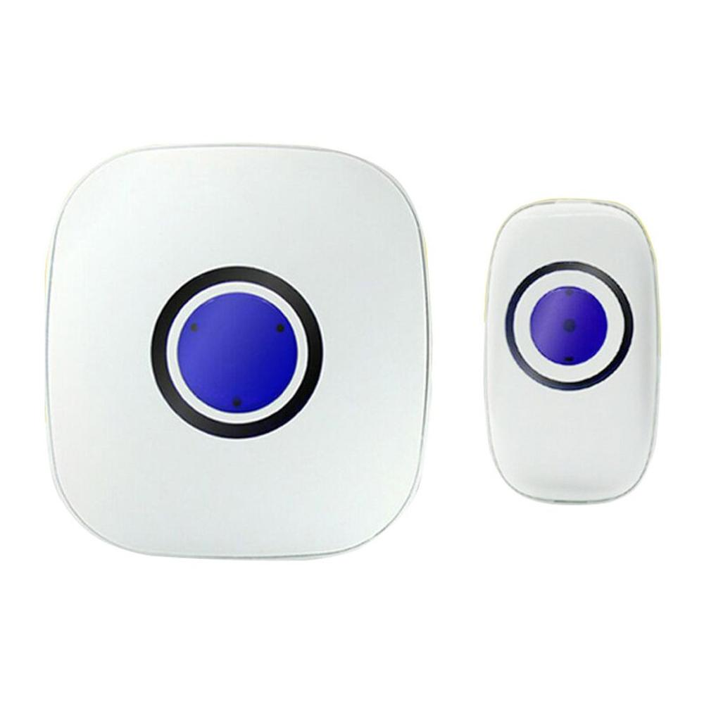 Home Welcome Doorbell Smart Wireless Doorbell Waterproof Remote EU US Plug Smart Door Bell Chime