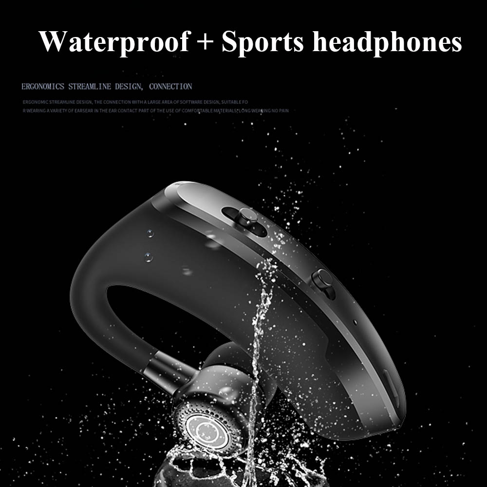 V9 earphones Bluetooth headphones Handsfree wireless headset Business headset Drive Call Sports earphones for iphone Samsung 3