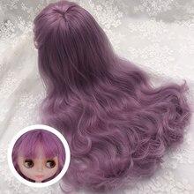 Nbl ブライス人形 diy カスタム人形ブライス、ブライス人形の髪ドームと頭皮前髪とと部分髪型