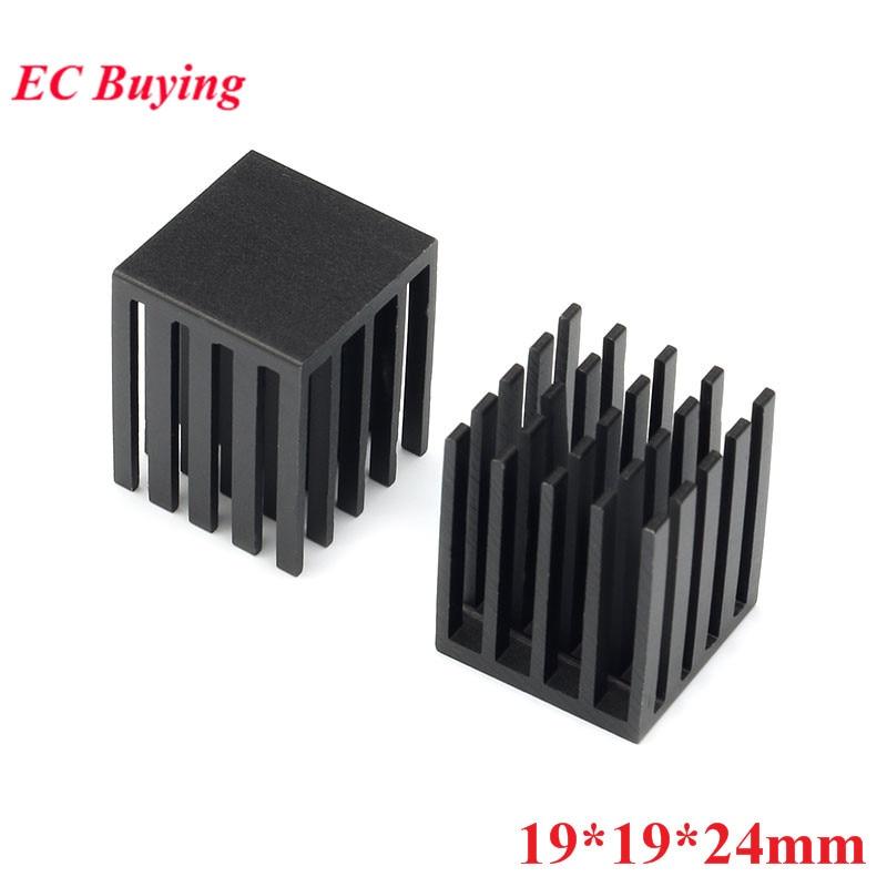 2pcs Heatsink 50x25x10mm Aluminum Heat Sink for PCB Device LM2596 2577 2587