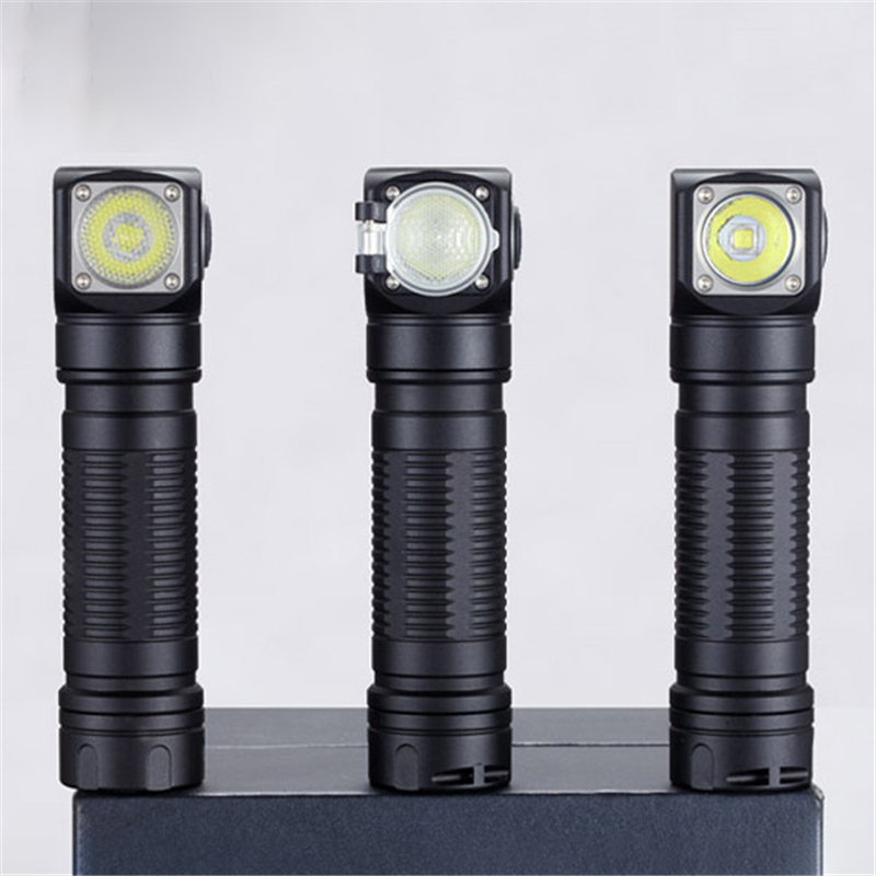SKILHUNT H04F RC XM-L2 1200lm 2 Goup Mode USB Rechargeable LED Headlight 18650 LED Flashlight Torch Lantern Lamp Spotlights