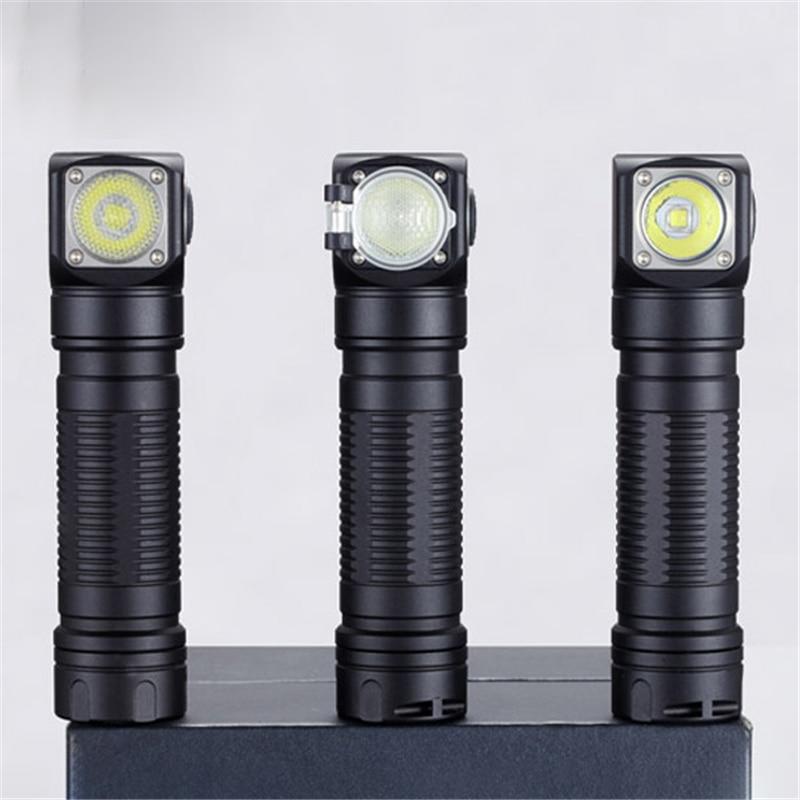 SKILHUNT H04F RC XM-L2 1200lm 2 Goup Mode USB Rechargeable LED Headlight 18650 LED Flashlight Torch Lantern Lamp Spotlights
