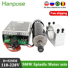 Spindle-Motor Er11-Chuck-Spindle 500W Motor-And-Power Air-Cooled Governor Free-Of-Charge