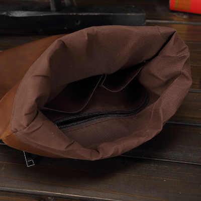 Nowe mody mężczyzna miękka skóra torba paczka Nylon wodoodporny dorywczo męska torba na ramię funkcjonalna torba na zamek błyskawiczny Crossbody dla mężczyzn