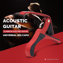 IRIN Acoustic Universal Big Capo for Classical Electric Guitar Quick Change Clamp Key Classic Guitar Capo for Tone Adjusting