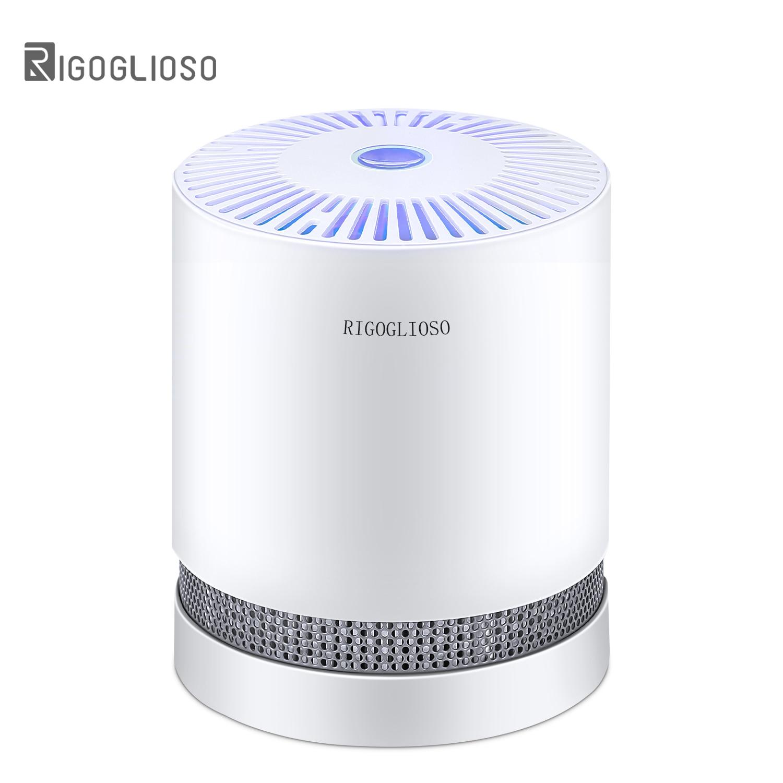 Air-Purifier FILTERS Night-Light Desktop True Hepa RIGOGLIOSO GL2109 Home for Compact