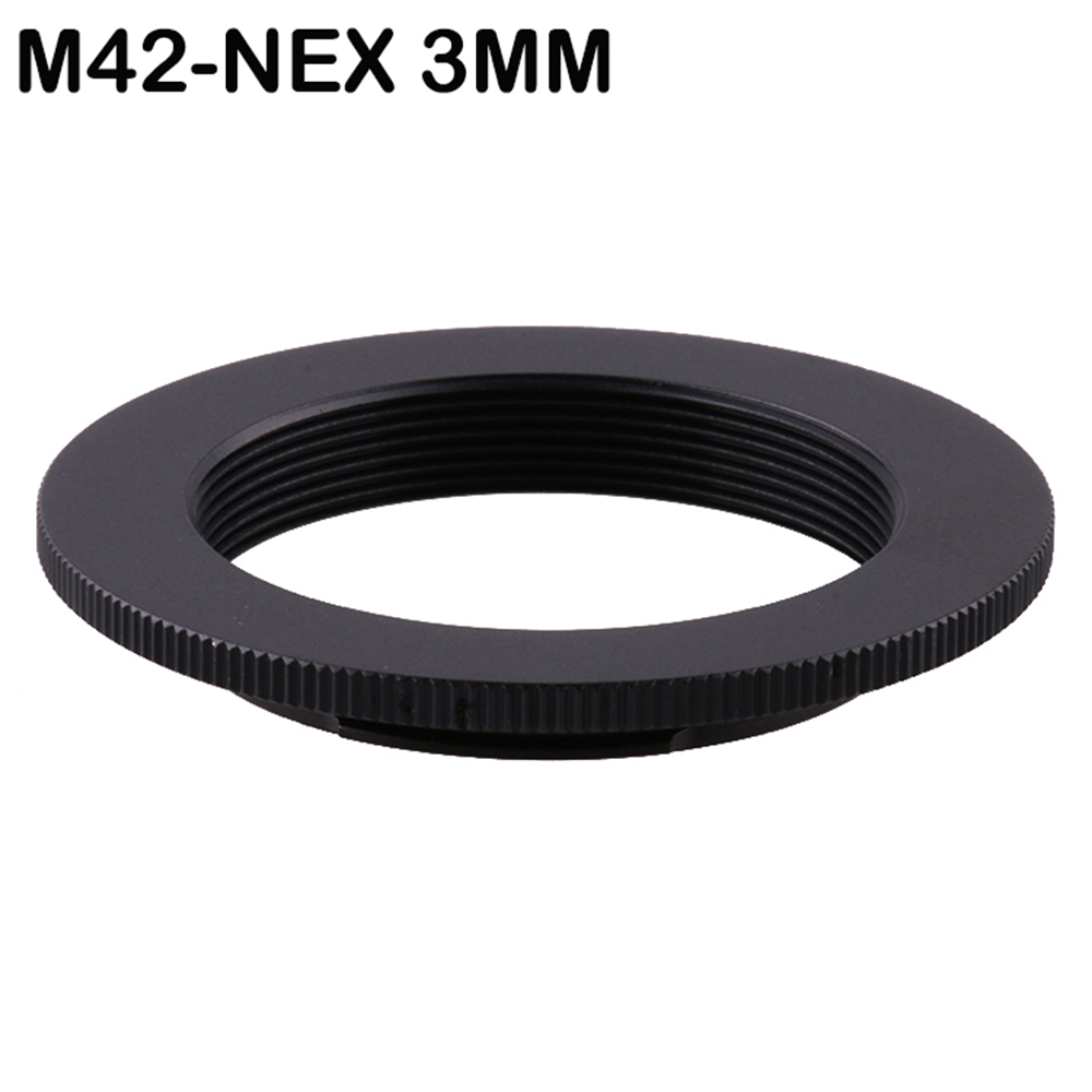 3MM Super Slim Lens Mount Adapter Ring M42-NEX For M42 Lens For SONY NEX E NEX3 For Sony E-mount NEX3 NEX5 NEX6 NEX-5N NEX-7