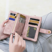 Wallets for Women Designer Coin Pocket Purses Hasp Rfid Wallet Women Leather Clutch Phone Credit Card Holders Money Zipper Bags