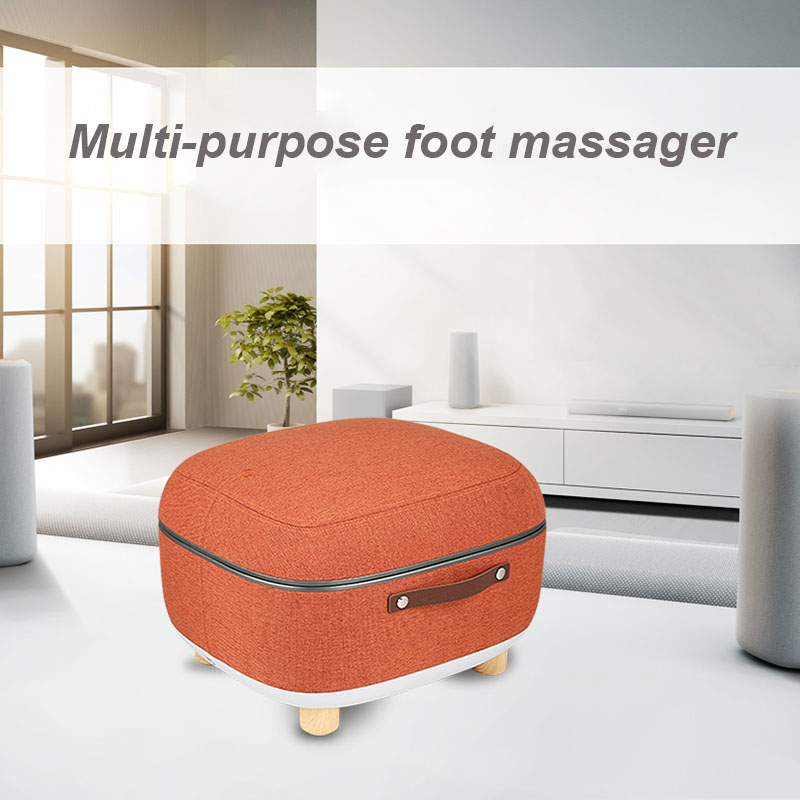 Foot Massage Machine Cushion Type Foot Massage Machine Foot Massager Leg Points Heat Kneading Automatic Household Elderly