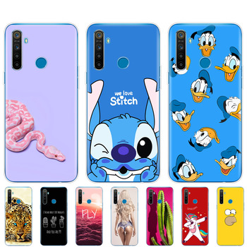 case For Realme 5 Case RMX1927 Silicon Soft Phone Cover For OPPO Realme 5 Pro RMX1971 Realme5 5Pro TPU Coque Skin shockproof smart mirror flip case for oppo realme 5 pro luxury clear view pu leather cover realme5 smart view case for oppo realme 5 pro