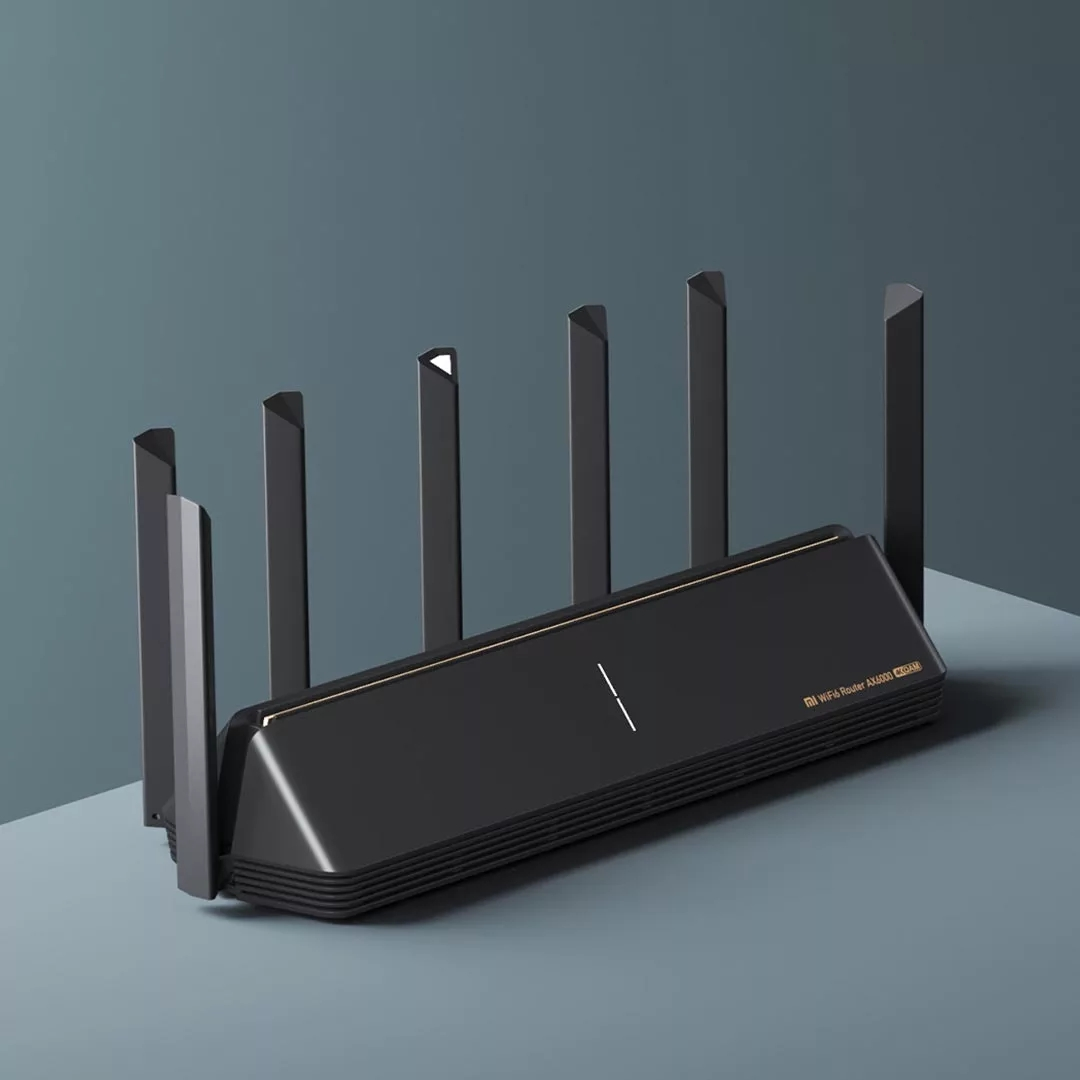 New Xiaomi Router AX6000 AIoT Router 6000Mbs WiFi6 VPN 512MB Qualcomm CPU Mesh Repeater External Signal Network Amplifier M 2
