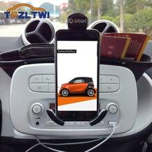 Auto Handy Halter Für Mercedes Smart 453 Forfour Fortwo Handy Halter für Auto Ladestation Schwerkraft Halterung