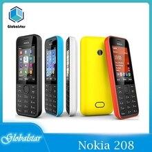 Nokia 208 Refurbished Mobile-Phones GSM Hebrew Cheap Unlocked Original 105 Celluar-Support