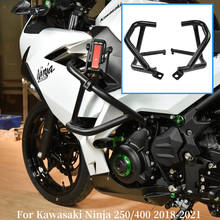 Bumper Engine-Guard-Tank Protection-Crash-Bars Motorcycle Kawasaki Ce for Ninja Frame