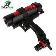 Pistolet à colle en verre pneumatique réglable de 310ml, outil de pistolet à Air en caoutchouc, outil applicateur de colle dure, outil de calfeutrage