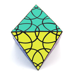 Original Hohe Qualität VeryPuzzle Clover Oktaeder Magic Cube Blütenblatt Kurve Geschwindigkeit Puzzle Weihnachten Geschenk Ideen Kinder Spielzeug