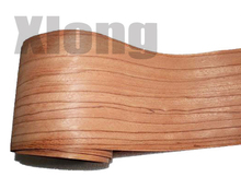 L:2.5Meters/pcs    Wide:165mm Thickness:0.2mm Natural red rose wood veneer Solid wood Speaker skinning veneer