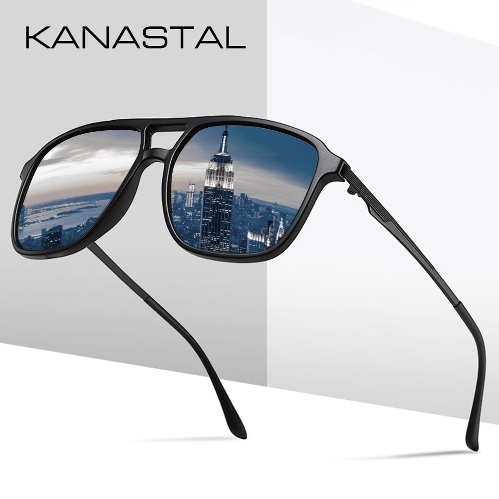 Vintage Driving Sunglasses Men Brand Designer Sun Glass Night Vision Eyewear Male Retro Classic Driving Fishing Outdoor UV400