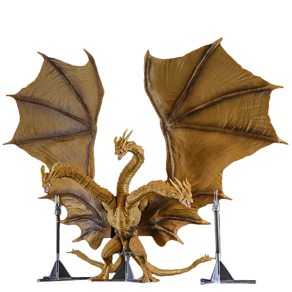 Godzilla:King Of The Monsters Three Headed Dragon Second Generation Model Figma Action Figure Archetype Gift Collectible Toys