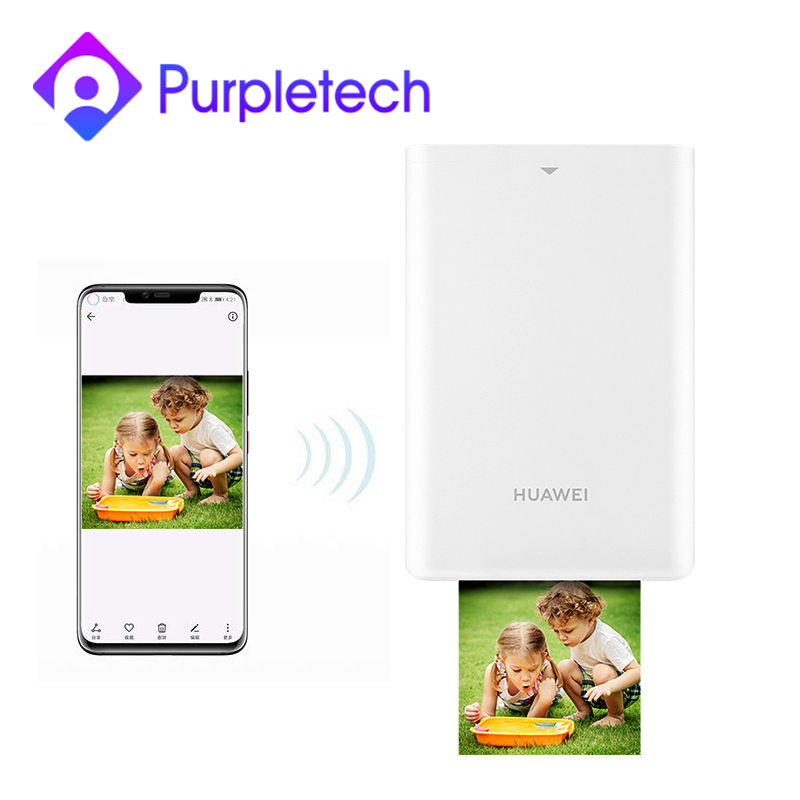 Huawei Pocket Photo Printer Mini Portable AR Photos Mini Pocket Printers Bluetooth 4.1 300dpi DIY Photo Printers For Smartphones