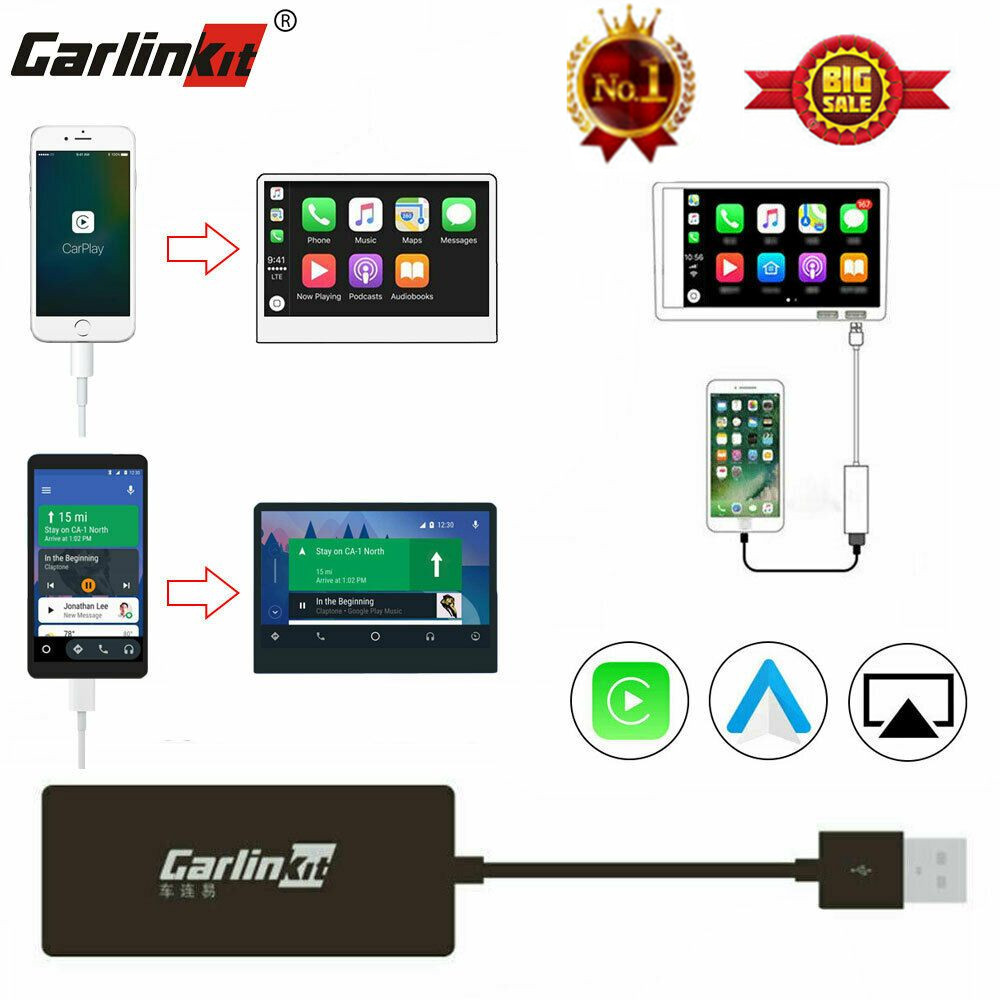 Carlinkit Smart Link Apple CarPlay Dongle für Android Navigation Player Mini USB Carplay Stick Voice Control