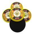 Вибрационная шлифовальная накладка 1-6 дюймов DA, шлифовальная накладка, подложка M6 и 5/16 дюйма-24, резьбовой крючок и петля, абразивные аксессу...