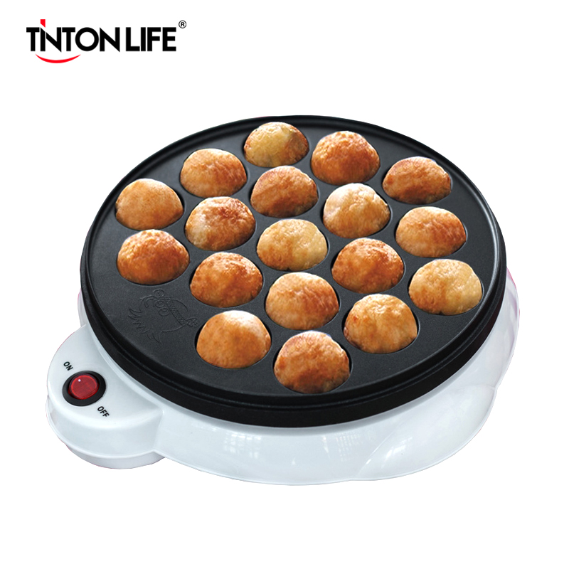 220V Maruko Baking Machine Household Electric Takoyaki Maker Octopus Balls Grill Pan With 18 Holes Professional Cooking Tools