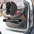 4PCS 3D ABS Tür Stopper Schutz Abdeckung Für Nissan Qashqai J11 J10 X trail Xtrail T32 T31 auto zubehör-in Chrom-Styling aus Kraftfahrzeuge und Motorräder bei