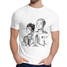 Cuello redondo clásico Haikyu Camiseta TanaNoya Camiseta Praying Casual para hombre de La Camiseta S-6XL