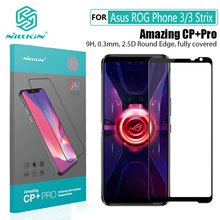 For Asus ROG Phone 3 강화 유리 NILLKIN CP + Pro H + pro For Asus ROG Phone 3 Strix 용 방폭형 9H 화면 보호기
