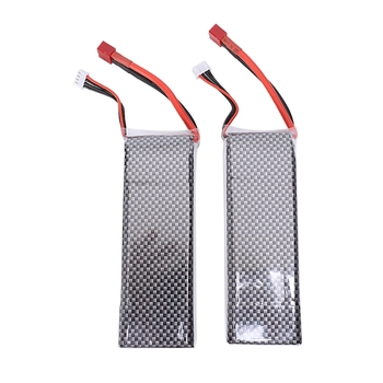 Hot 3C-2pcs 11.1V 5500mAh 3S 35C Lipo RC Battery for RC Helicopter RC Airplane RC Hobby