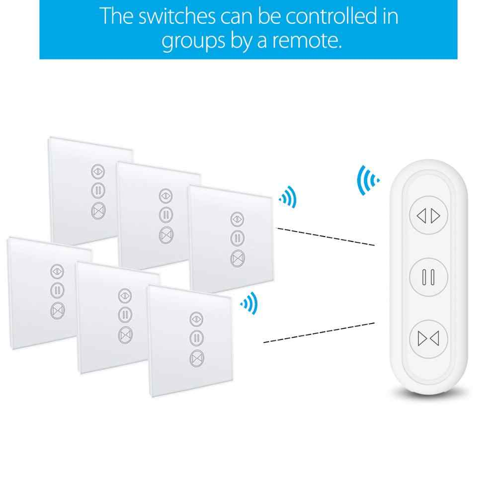 チュウヤスマートライフ WiFi ローラーシャッターカーテンスイッチリモコン電動ブラインドモータ Google ホーム Aelxa エコー Diy のスマートホーム