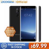 DOOGEE X60L 5,5 ''red 4G MTK6737 Quad Core 2 GB RAM 16 GB ROM 4G Cámara Dual teléfono inteligente con huella digital 7,0 mAh Android 3300 MP