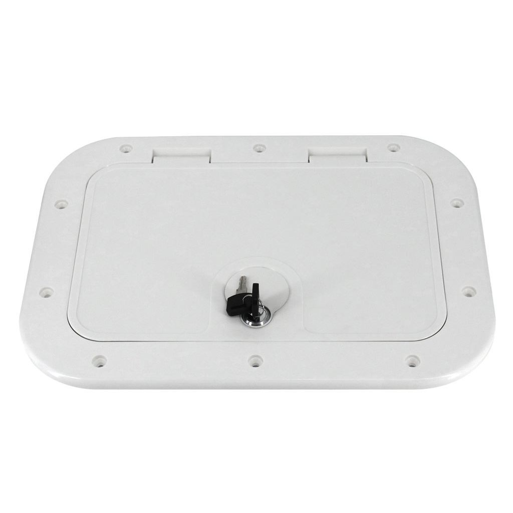 Hatch Cover Deck Plate Inspection Access For Marine / Boat /Kayak /Yacht Accessories, 378 X 248mm, Non-slip