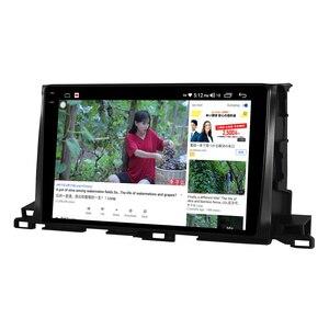 """Image 5 - 10.1 """"unità principale Stereo per autoradio Android 10 1280*800 navigazione GPS Carplay 4G per lettore multimediale Toyota Highlander 2014 2018"""