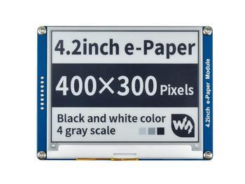 Waveshare 4.2inch E-Ink display black/white e-Paper with SPI interface compatible for Raspberry Pi/Arduino/Nucleo/STM32 3.3V/5V