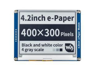 Image 1 - Waveshare Pantalla de tinta electrónica de 4,2 pulgadas, papel electrónico negro/blanco con interfaz SPI compatible con Raspberry Pi/Arduino/Nucleo/STM32 3,3 V/5V