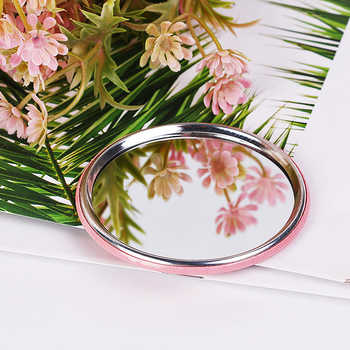 Custom Pocket Handbag Mirror Personalized Wedding Favor Purse Makeup Mirror Wedding Souvenir Party Favor Compact Mirror 50pcs