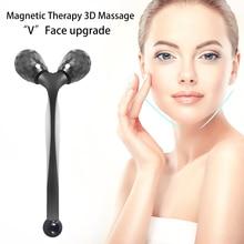 Инструмент магнитная терапия массаж 3D лифтинг лица ролика y форма 360 поворот инструмент красота инструмент удаления морщин женщин подтяжка лица