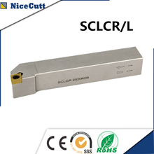 Nicecutt عدة المخرطة SCLCR سلسلة الخارجية تحول أداة حامل ل CCMT إدراج مخرطة أداة حامل Freeshipping