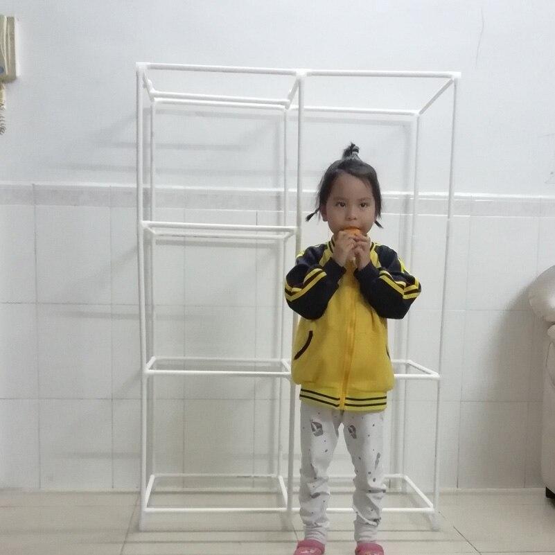 Simple wardrobe shelf for children -4-1