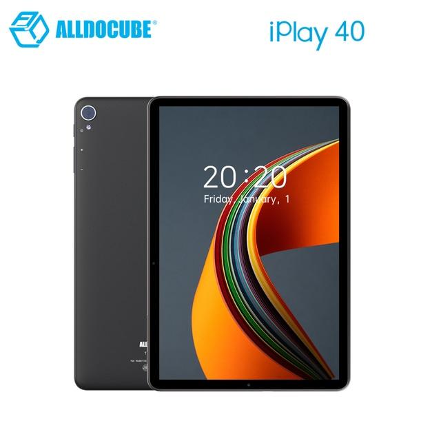 ALLDOCUBE iPlay 40 Tablet 10.4 Inch 8GB Ram 128GB Rom Tablet Android 10.0 Dual Sim Cards 2000*1200 IPS Unisoc T618 6000mAh BT5.0 1