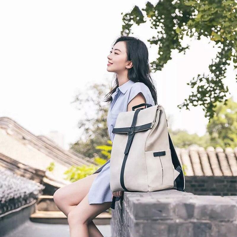 Новый Xiaomi 90 шлифовальная машина Оксфорд Повседневное Рюкзак 15 дюймовый ноутбук Сумка Многофункциональная игровая сумка для Для мужчин Для женщин для кемпинга, путешествий - 2