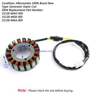 Image 2 - Artudatech Magneto Generator Engine Stator Coil For Honda VT1100 C C2 C3 D2 T 31120 MAH 005 31120 MG8 005 31120 MAA 005