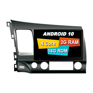 ANDROID 10.0 FOR HONDA CIVIC 2007-2011 2 Din CAR Stereo Radio Gps MULTIMEDIA SYSTEM CAR DVD Automotivo PLAYER Central Multimidia