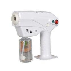 Cuidado del cabello nano pulverizador hidratante portátil cuidado de tintura caliente azul micro niebla máquina PISTOLA DE PULVERIZACIÓN cuidado del cabello equipo de cuidado del cabello
