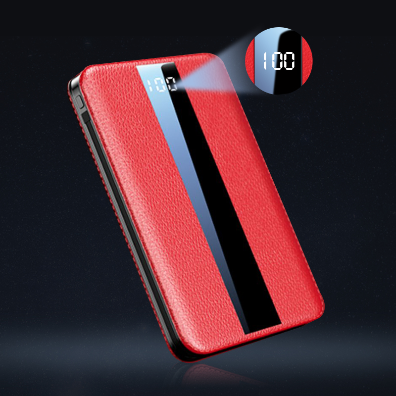 WK Portable Mini 10000mAh Power Bank With LED Display for iPhone 11 Pro Xiaomi Mi 4